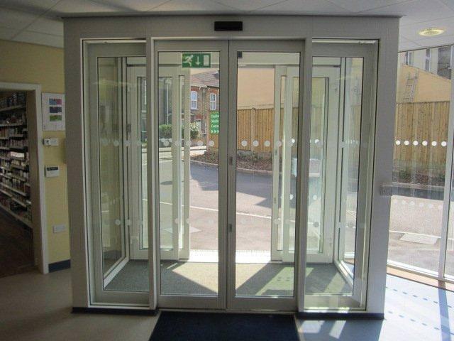 Automatic Sliding Doors For Commercial Properties Entec