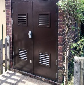 Steel Security Doors - Entec Access Systems Ltd